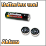 Batterien und Akkus
