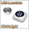 LED Click-Lichter und Notlichter