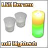 LED Kerzen und Teelichter