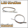 flexibler LED Streifen in verschiedenen Farben