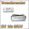 LED Transformatoren von 6W bis 250W