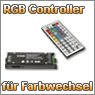 RGB Controller mit Fernbedienung fr einen stimmungsvollen Farbwechsel