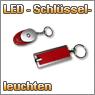 LED Schlüsselleuchten, auch als Set