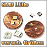 SMD LEDs verschiedener Gren und Farben