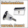 LED Solarleuchten und Solar Lichterketten