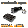 LED Taschenlampen in verschiedenen Gren