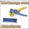 Werkzeuge zum Abisolieren, Abisolierzangen
