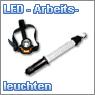 LED Arbeitsleuchten und Stirnlampen