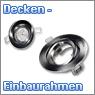 Deckeneinbaurahmen für Einbaustrahler