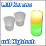 LED Kerzen und Teelichter