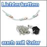 LED Lichterketten mit unterschiedlicher LED Anzahl, auch mit Solar