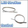 flexibler LED Streifen in verschiedenen Farben