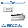 LED transformers from 6W to 250 W