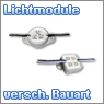 LED Lichtmodule verschiedene Bauarten
