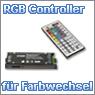RGB Controller mit Fernbedienung für einen stimmungsvollen Farbwechsel