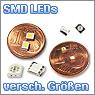 SMD LEDs verschiedener Größen und Farben