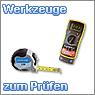 Prüfmittel, Spannungsprüfer, Multimeter, LED-Tester