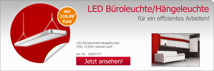 LED Büroleuchte,70W