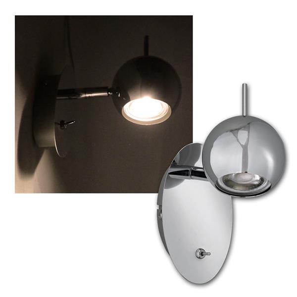 Spotleuchte CP-1, 3W COB LED warmweiß 230lm, 230V